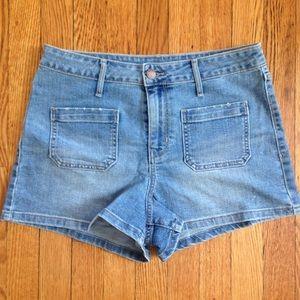 NWOT Front Pocket Denim Shorts